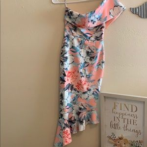Gorgeous one shoulder dress by ASOS NWT
